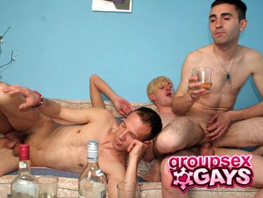 Drunk Dudes scene 2 2